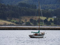 Boat, Huon Valley, Tasmania Stock Photos