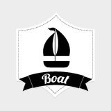 Boat icon Royalty Free Stock Images