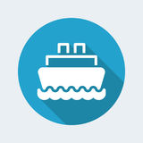 Boat icon Stock Image