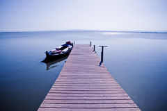Boat In The Lake II Royalty Free Stock Photography