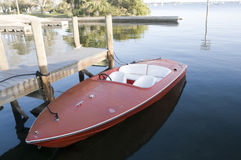 Boat on Indian River Stock Photos