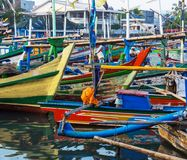 Boat in Indonesia Stock Images