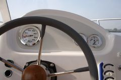 Boat Instrument Panel Stock Images