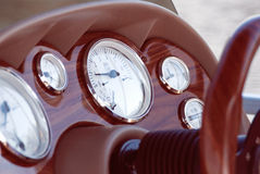 Boat Instrument Panel Royalty Free Stock Photography