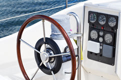 Boat instruments Royalty Free Stock Photography