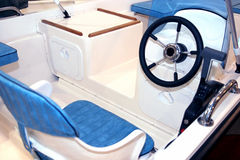 Boat interior Royalty Free Stock Image