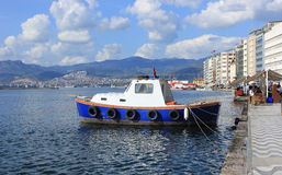Boat in Izmir (Alsancak) Stock Photography