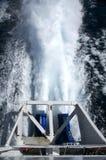 Boat jet engine Stock Image