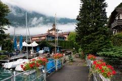 Boat jetty Royalty Free Stock Photo