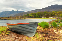 Boat in Killarney National Park Royalty Free Stock Photo