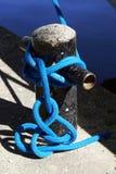 Boat Knot at Shoreline Stock Photo