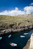 Boat in La Valletta Malta Royalty Free Stock Image