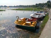 Boat& x27; lago s-Mansbal Immagini Stock Libere da Diritti