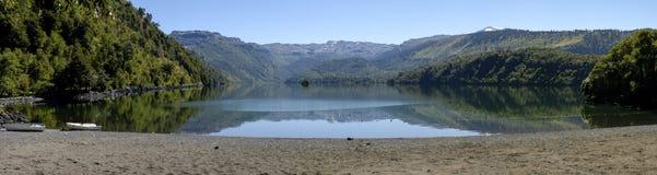 Boat lagoon, Biobio Chile Royalty Free Stock Photo