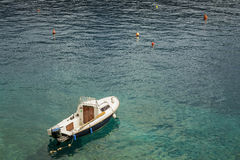 Boat in lagoon. Stock Photography