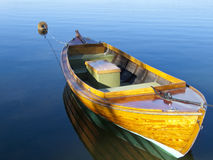 Boat in the lake Royalty Free Stock Photos