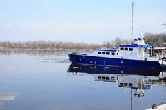 Boat on lake Royalty Free Stock Photo