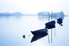 Boat in Lake Royalty Free Stock Image