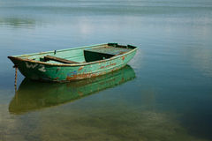 Boat on Lake Stock Image