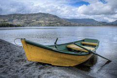 Boat on the lake Royalty Free Stock Image