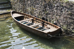 Boat on lake Royalty Free Stock Photos