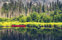 Boat on lake. Boat on a lake Royalty Free Stock Photography