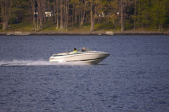 Boat on Lake. (Close Up Stock Photos