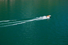 Boat. A boat on lake, Beijing, China Stock Image