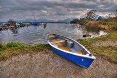 Boat at lake Chiemsee Royalty Free Stock Images