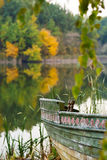 Boat and the lake. Royalty Free Stock Photo