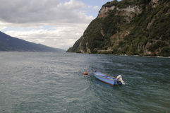 Boat of the lake garda Royalty Free Stock Photography