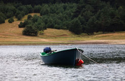 Boat in lake Stock Photography