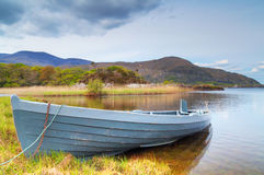 Boat on lake in Killarney National Park Royalty Free Stock Image