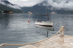 Boat and lake Royalty Free Stock Images