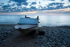 Boat and lake Royalty Free Stock Photos