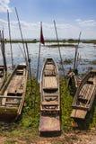 Boat in Lake Stock Image