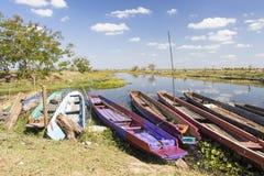 Boat in Lake Stock Photos