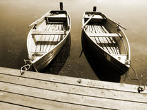 Boat on the lake (13) Royalty Free Stock Photo