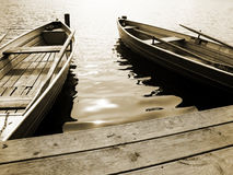 Boat on the lake (14) Royalty Free Stock Images