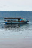 Boat Lake Toba Royalty Free Stock Photos
