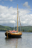 Boat on Lake Windermere Royalty Free Stock Photo