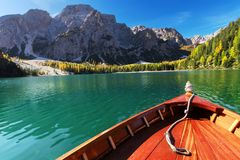 Boat on the lake. Stock Image