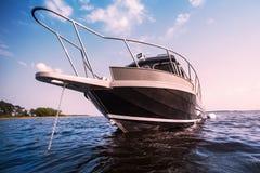 Boat on lake Stock Photo