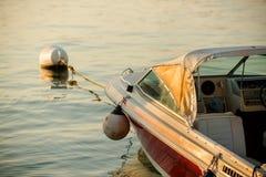 Boat at the lakeside Royalty Free Stock Photo