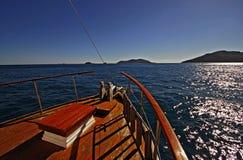 Boat Landscape Stock Image