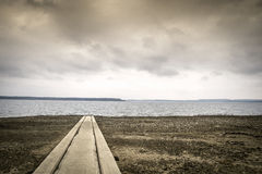 Boat lauch ramp Royalty Free Stock Photography