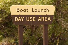 Boat Launch Royalty Free Stock Photography