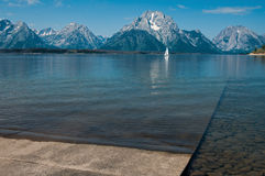 Boat Launch Ramp Royalty Free Stock Images
