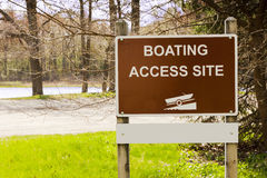 Boat Launch Site Royalty Free Stock Image