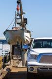 Boat lift Stock Photo